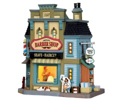 Lemax Village Collection Midtown Barber Shop # 35567