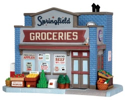 Lemax Village Collection Springfield Groceries # 35575
