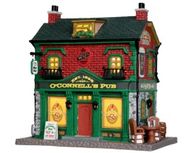 Lemax Village Collection O' Connell's Irish Pub # 35600
