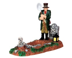 Lemax Spooky Town Grave Digger # 42202