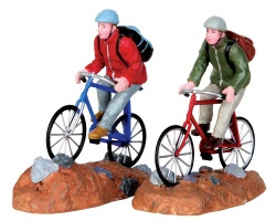 Lemax Village Collection Trail Blazers Set of 2 # 42246