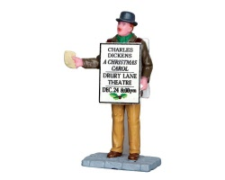 Lemax Village Collection Sandwich Board Man # 42258