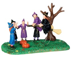 Lemax Spooky Town Broom Race # 43065