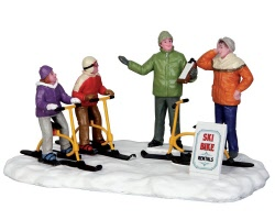 Lemax Village Collection Ski Bike Rentals # 43073