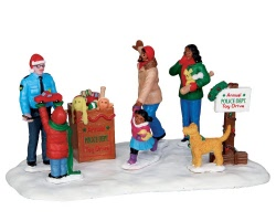 Lemax Village Collection Toy Drive # 43075