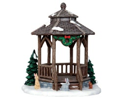 Lemax Village Collection Winter Gazebo # 43084