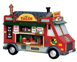 Lemax Village Collection Taco Food Truck # 43086