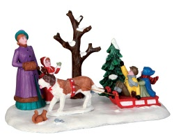 Lemax Village Collection Sleigh Rides # 43097