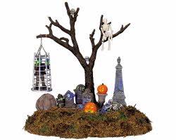 Lemax Spooky Town Caged Monster # 44106