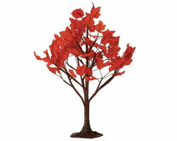 Lemax Spooky Town Maple Tree Large 9 inch # 44151