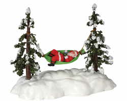 Lemax Village Collection Swinging Santa # 44191