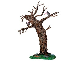 Lemax Spooky Town Twisted Vulture Tree # 44758