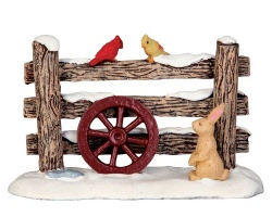 Lemax Village Collection Rustic Wood Fence # 44760