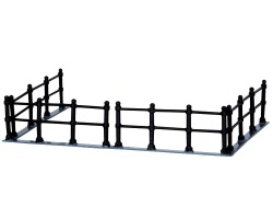 Lemax Village Collection Canal Fence Set of 4 # 44789
