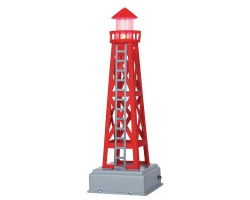 Lemax Village Collection Habour Tower Battery Operated # 44806