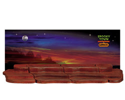 Lemax Spooky Town 4-Foot Display Material - Halloween # 44809