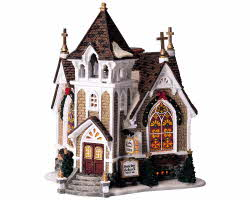 Lemax Village Collection Little River Church # 45069