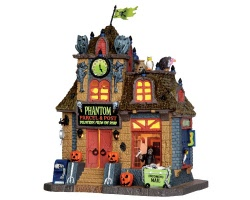 Lemax Spooky Town Phantom Parcel & Post # 45667