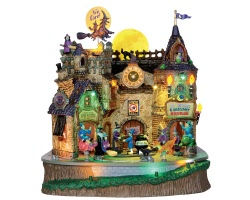 Lemax Spooky Town Lil' Witches & Warlocks Nightcare with Adaptor # 45670