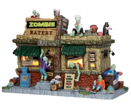 Lemax Spooky Town Zombie Eatery # 45673