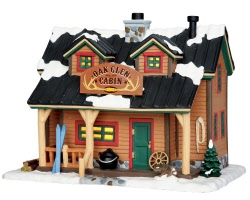 Lemax Village Collection Oak Glen Cabin # 45693
