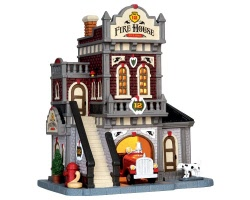 Lemax Village Collection Fire House No. 12 # 45702