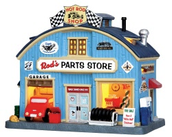 Lemax Village Collection Rod's Parts Store # 45707