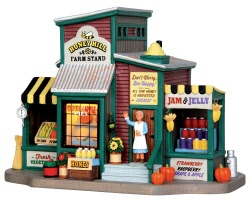 Lemax Village Collection Honey Hill Farm Stand # 45711