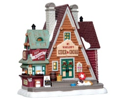 Lemax Village Collection Mt. Woodland's Cider & Cocoa # 45717