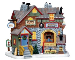 Lemax Village Collection Jake's Cafツ # 45721