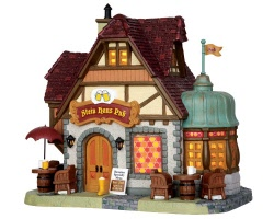 Lemax Village Collection Stein Haus Pub # 45723