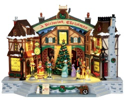 Lemax Village Collection A Christmas Carol Play with Adaptor # 45734