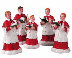 Lemax Village Collection The Choir Set of 5 # 52038