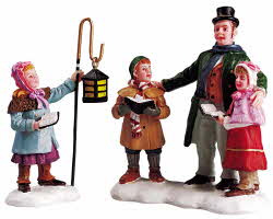 Lemax Village Collection Carolers Quartet Set of 2 # 52039