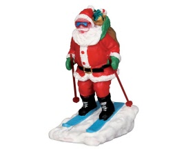 Lemax Village Collection Santa Skier # 52337