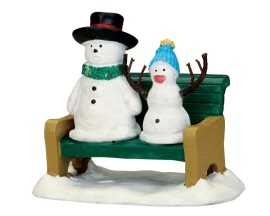 Lemax Village Collection Snowdad and Snowbaby # 52368