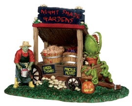 Lemax Spooky Town Night Shade Garden Cart # 53201