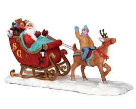 Lemax Village Collection Santa's Sleigh # 53210