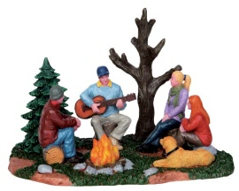 Lemax Village Collection Campfire Music # 53233