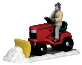 Lemax Village Collection Ride-On Snowplow # 53236