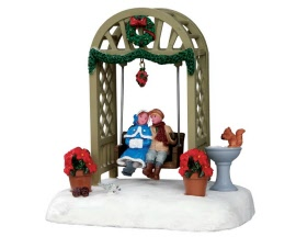 Lemax Village Collection The Garden Swing Battery Operated # 54926