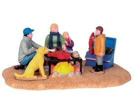 Lemax Village Collection Winter Clambake Battery Operated # 54930