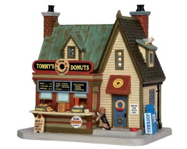 Lemax Village Collection Tommy's Donuts # 55925