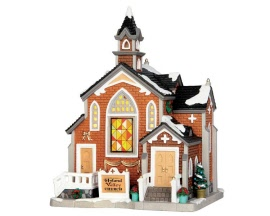 Lemax Village Collection Hyland Valley Church # 55927