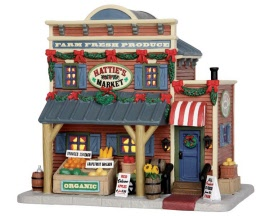 Lemax Village Collection Hattie's Market # 55931