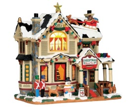 Lemax Village Collection Christmas Home Tour # 55932