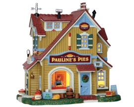 Lemax Village Collection Pauline's Pie Shop # 55936