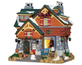 Lemax Village Collection Antler Peak Cabin # 55939