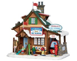 Lemax Village Collection Sugar Pine Ski School # 55940