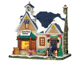 Lemax Village Collection Snowfield School # 55943